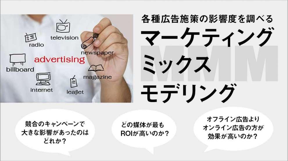 マーケティングミックスモデリング